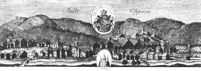 Stadt Oppenau, 1804